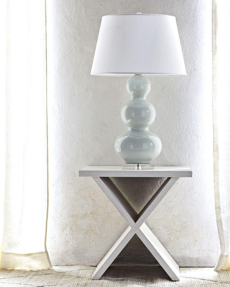 Hunter side table bedside tablesend tablestable lampsgourd lampwooden side tablebedroom furnitureliving furniturehunterslily