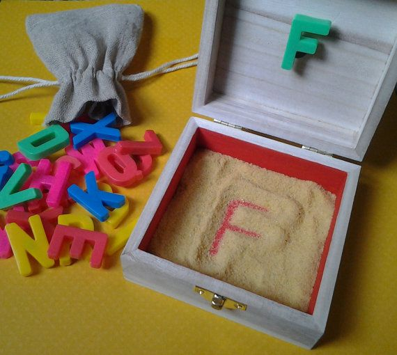 Hey, I found this really awesome Etsy listing at https://www.etsy.com/listing/208145278/portable-letter-formation-sand-box