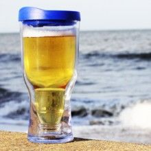 Brew2Go Portable Beer Glass | | Insulated Beer Sippy Cup