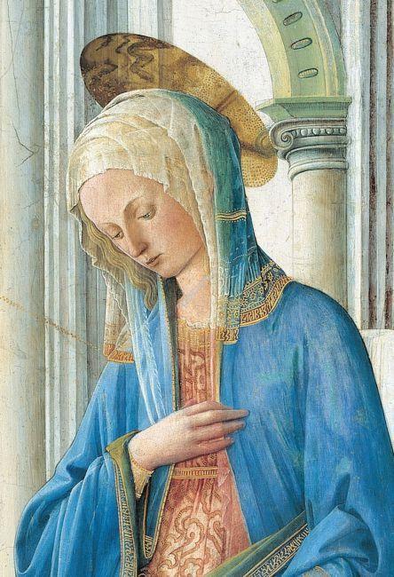La Vierge de l'Annonciation Fra Filippo LIPPI