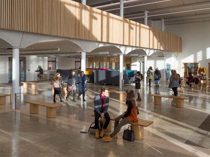 Nottingham Trent University | Bespoke Benching | Frem Group
