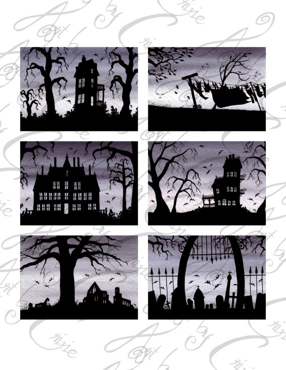digital download printable collage sheet