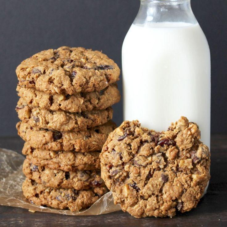 Stack velkých a žvýkací Ovesné sušenky