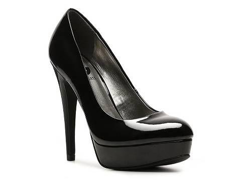 G by Guess Winna Platform Heels Black