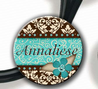 Hey, I found this really awesome Etsy listing at http://www.etsy.com/listing/96181378/stethoscope-id-tag-personalized