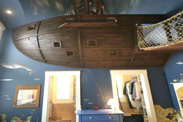 Amazing genuine pirate boys bedroom :http://www.sedmmo.com/2017/06/16/amazing-genuine-pirate-boys-bedroom/?Slide_num=0