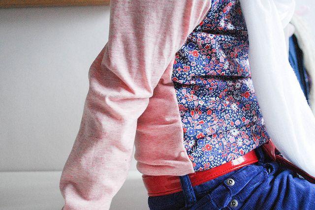 Charlie : combinatie van tricot mét katoen !