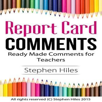 8 best Report Card Comments images on Pinterest Comments for - report card