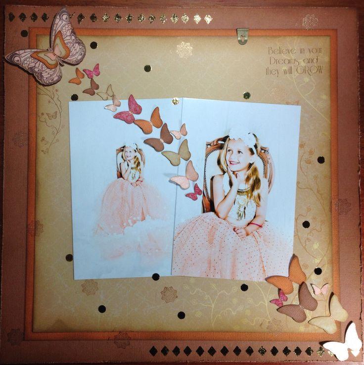 Butterfly layout kaszazz