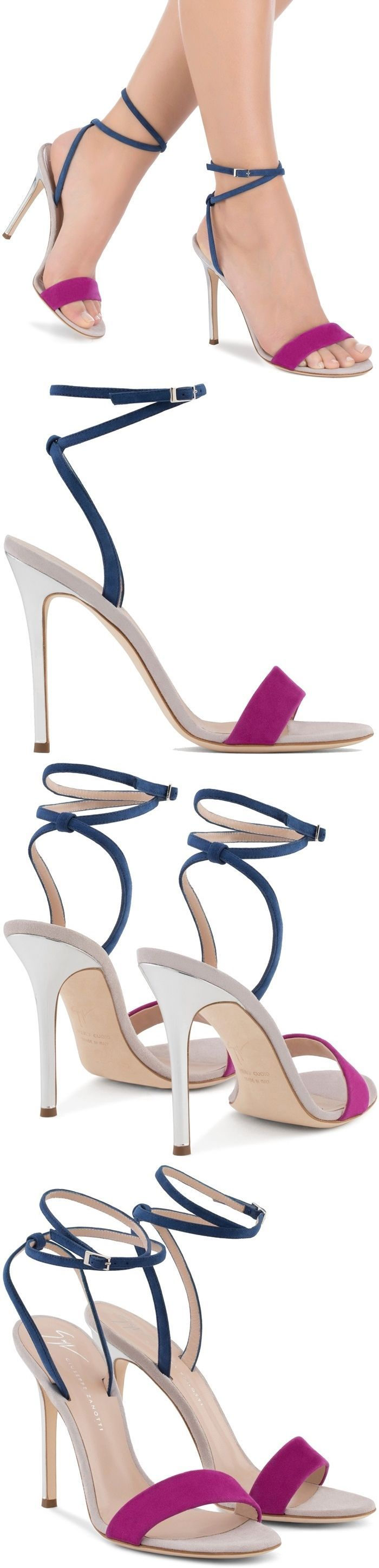 'Georgina' Colorblock High Heel Sandals
