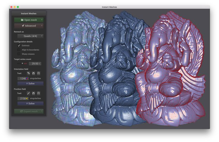 Instant Meshes standalone app