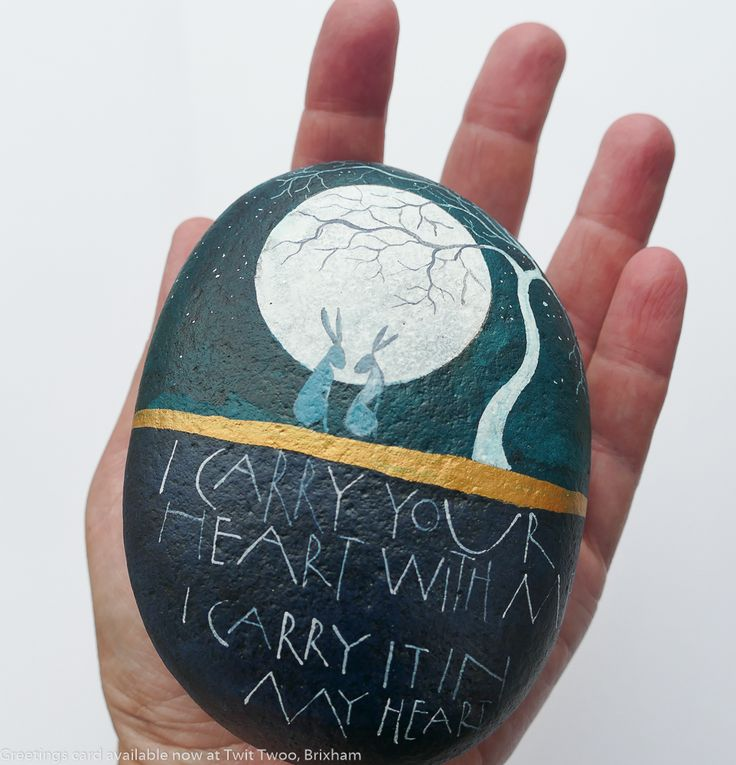 Hand painted stone. Sam Canon To order stones,contact info@samcannonart.co.uk or via facebook or Instagram accounts @samcannonart