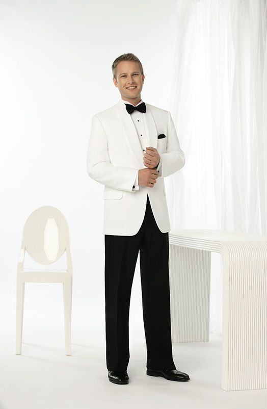 Thomas & Sons Tuxedos & Suits White Dinner Jacket