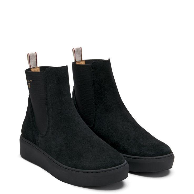 GANT - Anne Boots Black    Offisiell nettside, kr. 1500kr, str. 37