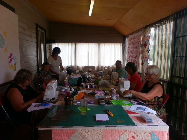 Darvanalee Designs Long Arm Quilting and More: Some Class Time Fun