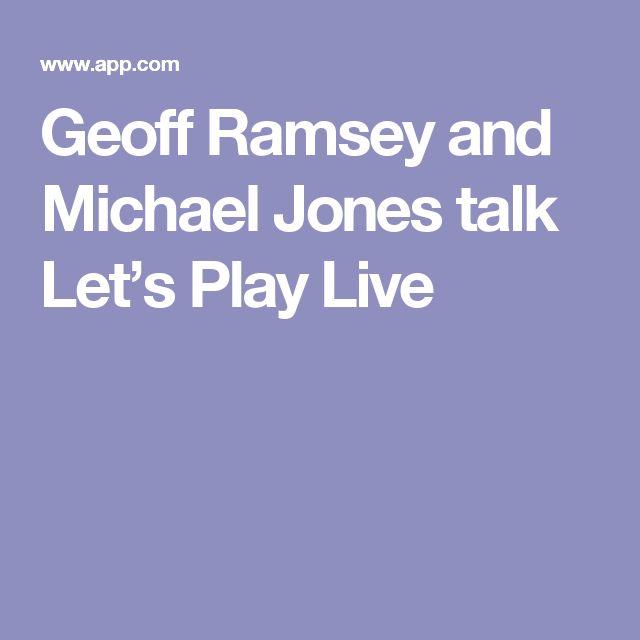 Geoff Ramsey and Michael Jones talk Let's Play Live