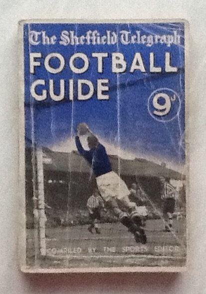 1948/9  Sheffield Telegraph Football Guide
