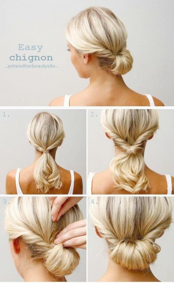 Simple Wedding Hairstyles To The Side Simple Wedding Hairstyles Step