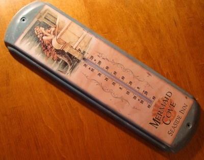 Beautiful Nautical Mermaid Thermometer Tropical Beach Seaside Ocean Home Decor | eBay