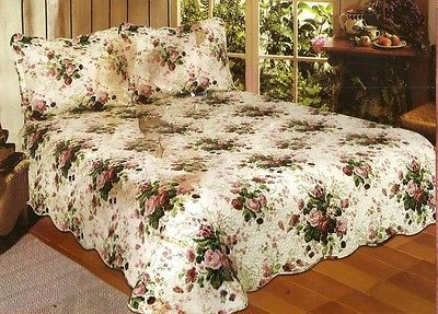 Chinese Rose King Size Quilt Set New | eBay