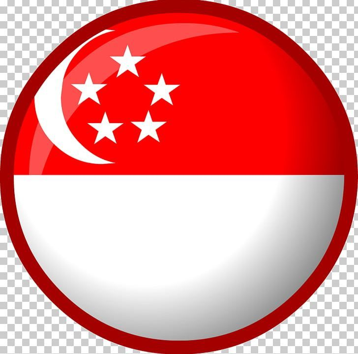 Flag Of Singapore Flag Of Singapore Flag Of The United States National Flag Png Area Circle Club Penguin Entertainment In Singapore Flag National Flag Flag