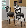 Chase 24-inch Swivel Counter Stools (Set of 2) | Overstock.com Shopping - The Best Deals on Bar Stools