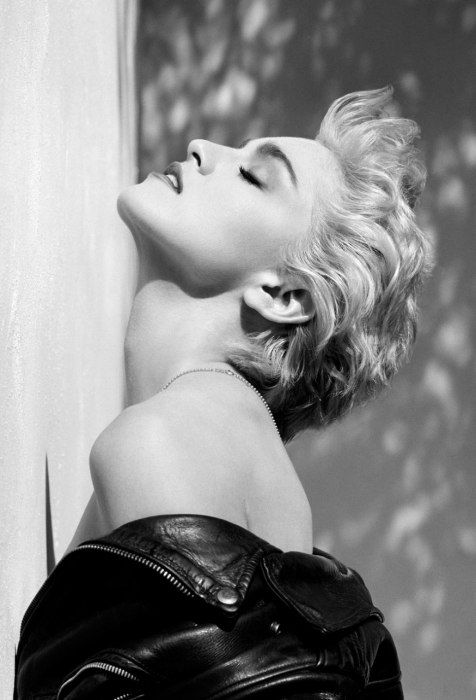 Madonna, Hollywood, 1986 by Herb Ritts.
