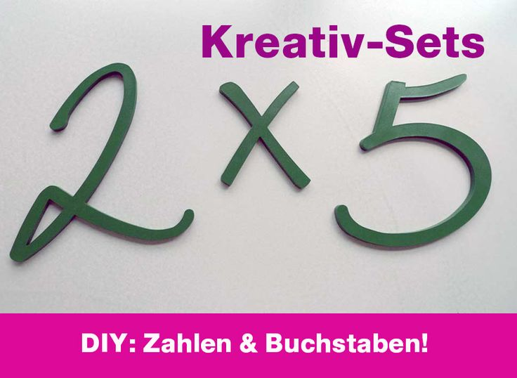 holzbuchstaben hausnummer diy kreativ set dekoration und selber machen. Black Bedroom Furniture Sets. Home Design Ideas