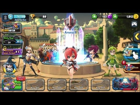 Legend Tactics GAMEPLAY Arena Master 1 - Legend Tactics Arena Master is a Free Android, Strategy Role-Playing RPG, Multiplayer Game featuring whole new concept of winning through strategy.