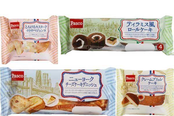 【世界のスイーツがパンに】Pascoから菓子パン4種が新発売!   5/1発売です♪ #Pasco #菓子パン #パン #スイーツ #スイーツパン