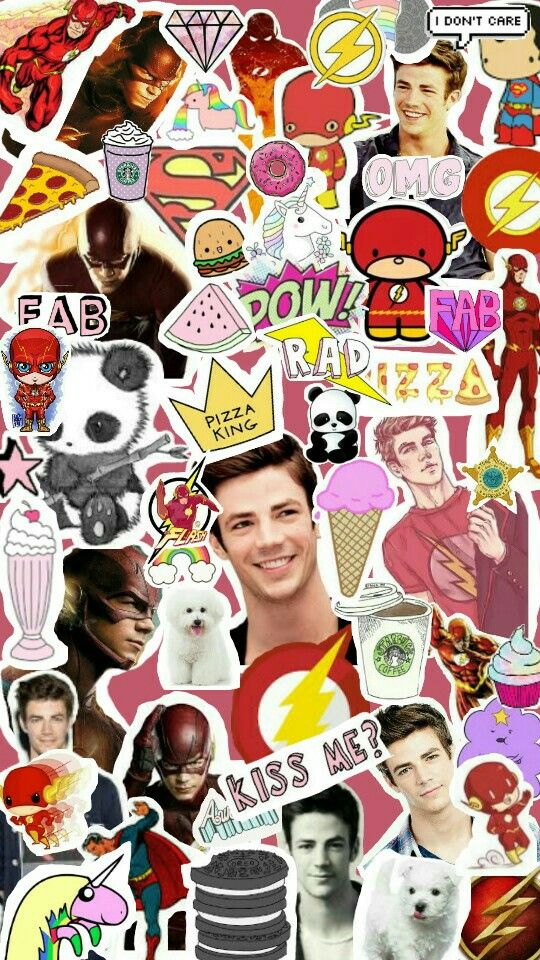 Grant Gustin Collage