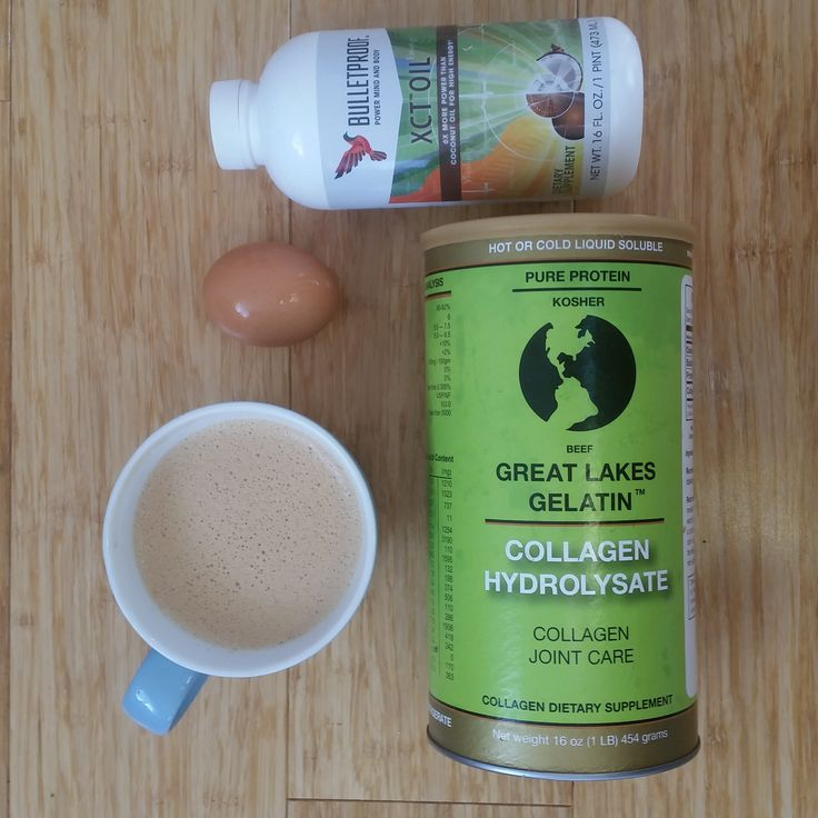Taking your collagen in bulletproof coffee is a delicious way to get your daily dose
