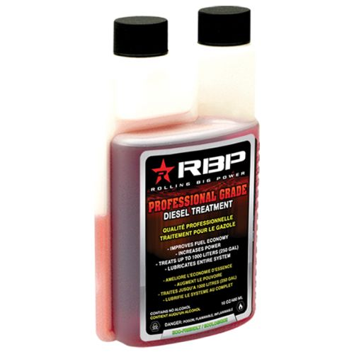 RBP Professional Grade #DieselTreatment cleans your fuel injector system and combustion chamber for an engine that runs as smoothly and as well as it did on the showroom floor. #RBPDiesel #DieselAdditive
