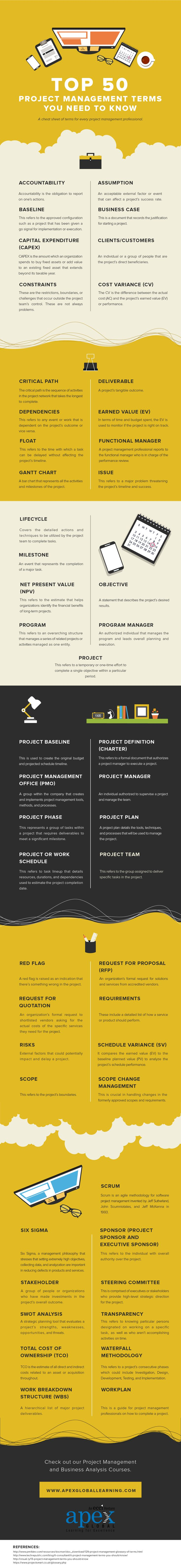 What the most common project management jargon actually mean (#INFOGRAPHIC) #ProjectManagement #consultants