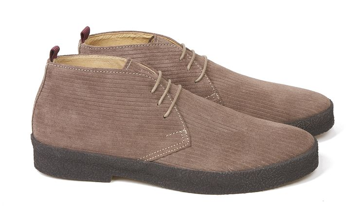 'Chukka' boot  Corded suede leather  available in size 6, 7 & 11