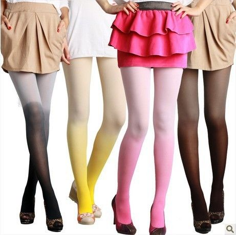 5 pcs Women Fashion Sexy Gradient Color Pantyhose 80D Ultra Thin Tights Candy Colors Leg Slimming Stockings #Pantyhose legs http://www.ku-ki-shop.com/shop/pantyhose-legs/5-pcs-women-fashion-sexy-gradient-color-pantyhose-80d-ultra-thin-tights-candy-colors-leg-slimming-stockings/