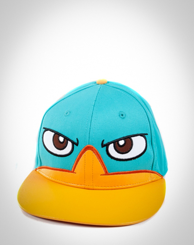 Phineas and Ferb 'Perry Face' Flatbill Hat