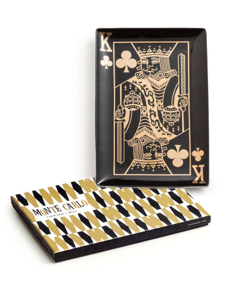 MONTE CARLO KING OF CLUBS TRAY