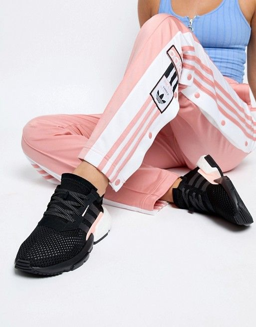 e6d7187a054 adidas Originals | adidas Originals Pod-S3.1 Sneakers In Black And Pink