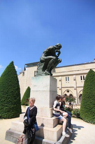 Museo Rodin , Paris , Francia ( escultura El pensador ) - Google Maps