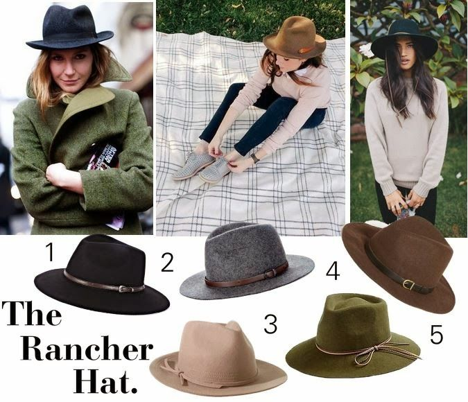 The Rancher Hat and how to wear one! http://www.sweetiepiepumpkinnoodle.com/2013/10/sweet-obsessions-rancher-hat.html