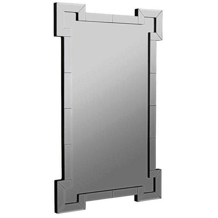 Cooper Classics 40826 Signa Frameless Mirror in Layered