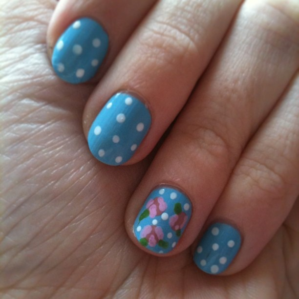 Nail Arts By Rozemist Cath Kidston Vintage Inspired: 32 Best Cath Kidston Nails Images On Pinterest