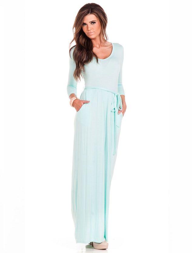 17 best ideas about Mint Maxi Dresses on Pinterest | Mint maxi ...