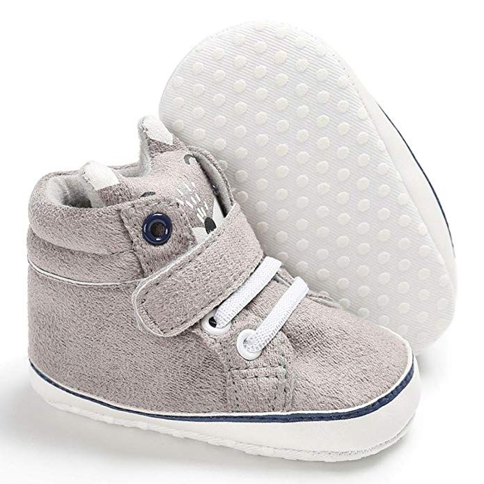 0405fed25 Botrong Baby Girl Bowknot Leater Shoes Sneaker Anti-Slip Soft Sole Toddler  Baby Products