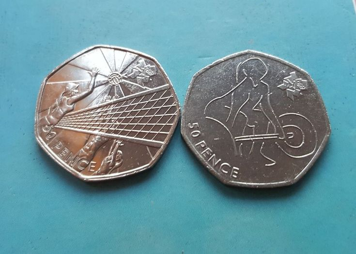 50p Olympics 2011 Weightlifting Volleyball  £5.99 or Best Offer Ebay Uk Item Number  263411607490