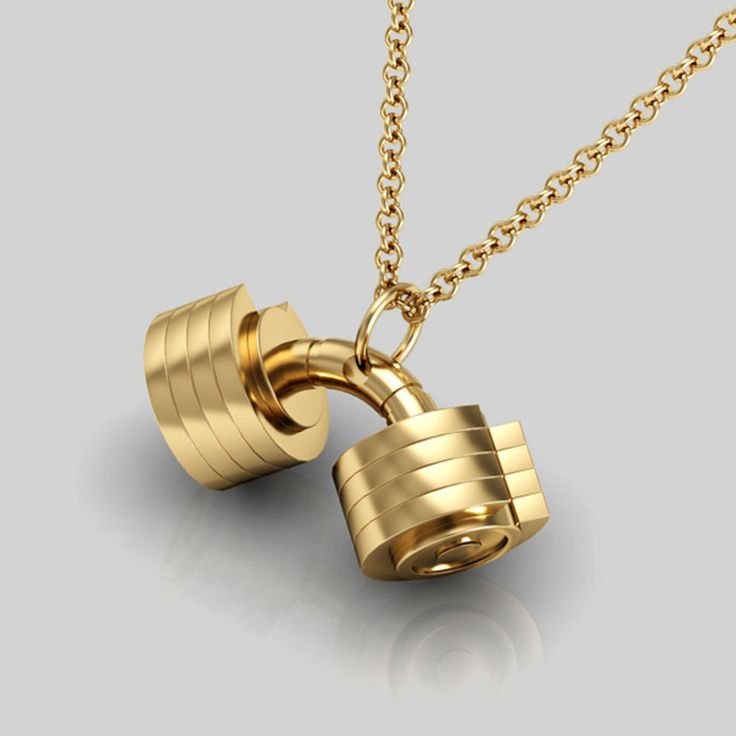necklace price steel en product titanium pendant new jumia stainless ng jewelry nigeria fitness s from fashion dumbbell