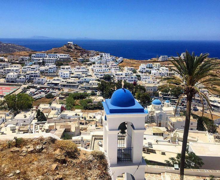 The wonderful Chora village of ios island (Ίος)