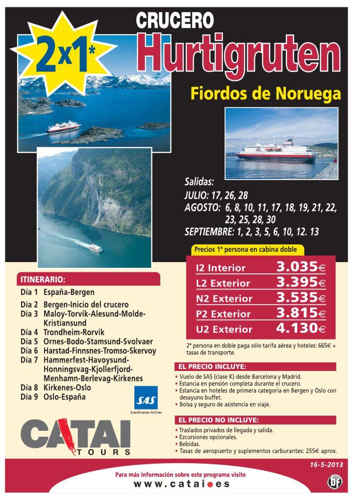 2x1 crucero Hurtigruten, Fiordos de NORUEGA, sal julio a sept, p. completa durante el crucero. - http://zocotours.com/2x1-crucero-hurtigruten-fiordos-de-noruega-sal-julio-a-sept-p-completa-durante-el-crucero/