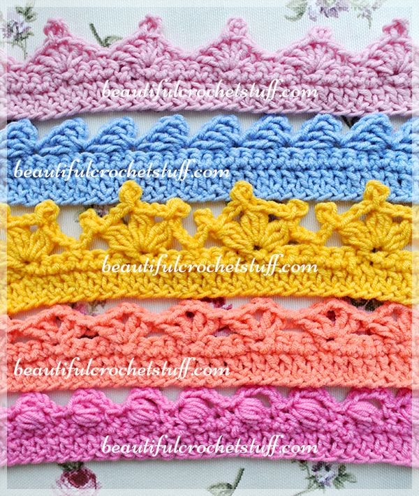 Crochet Borders – Top 5 Free Patterns